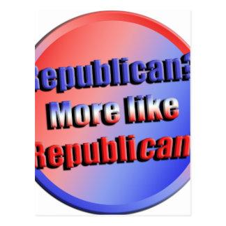 Cartão Postal Republicant