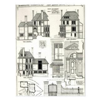 Cartão Postal Residência Sunnycote da joia, Hampstead,