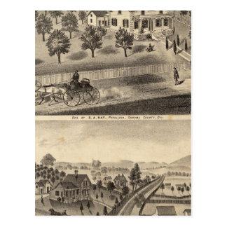Cartão Postal Residências da não do SA e do DM Winans
