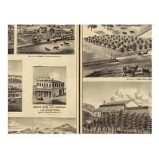 Cartão Postal Residências de Frank McElarney, HF Gerkhardt