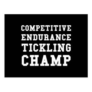 Cartão Postal Resistência competitiva que agrada o campeão