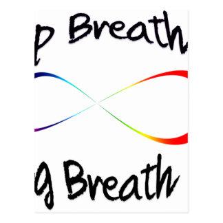 Cartão Postal respiração infinita