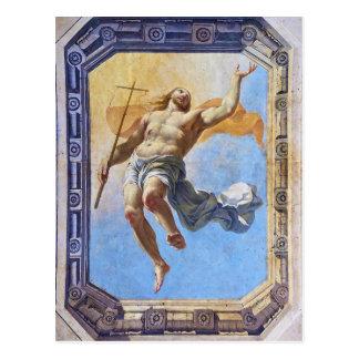 Cartão Postal Ressurreição do cristo pela pessoa idosa de Michel