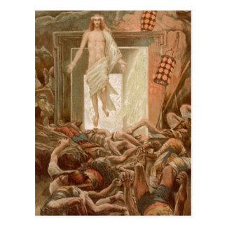 Cartão Postal Ressurreição do Jesus Cristo, por James Tissot