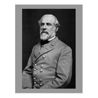 Cartão Postal Retrato confederado do general Robert E. Lee