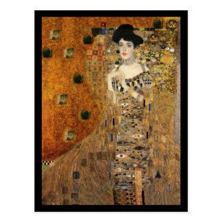 Cartão Postal Retrato da Adele Bloch-Bauer de Klimt