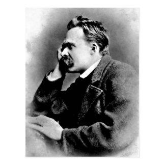 Cartão Postal Retrato da descrição de Friedrich Nietzsche, 1882;