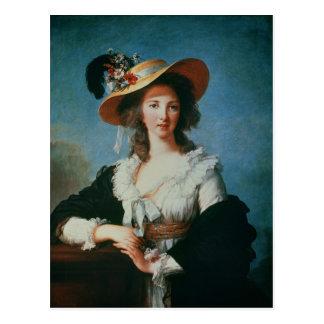 Cartão Postal Retrato da duquesa de Polignac