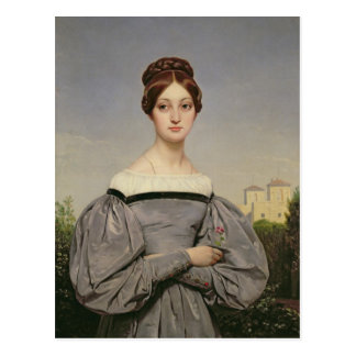 Cartão Postal Retrato da filha de Louise Vernet do