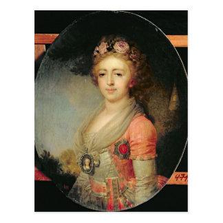 Cartão Postal Retrato da grã-duquesa Alexandra, c.1798