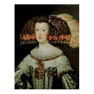 Cartão Postal Retrato da rainha Maria Anna da espanha