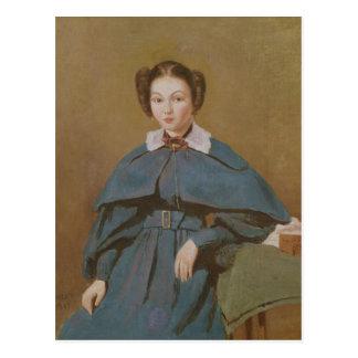 Cartão Postal Retrato da senhora Baudot, sobrinha do artista