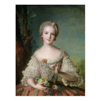 Cartão Postal Retrato da senhora Louise de France