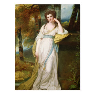 Cartão Postal Retrato da Sra. Henry Maxwell