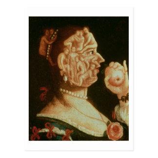 Cartão Postal Retrato da véspera (óleo)