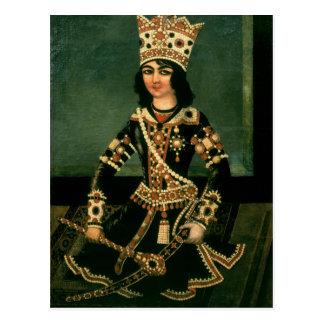 Cartão Postal Retrato de Abbas-Minza