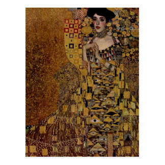 Cartão Postal Retrato de Adele Bloch-Bauer mim