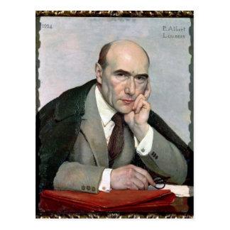 Cartão Postal Retrato de Andre Gide 1924