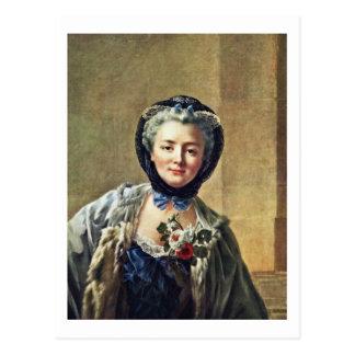 Cartão Postal Retrato de Annemarie Françoise Doré
