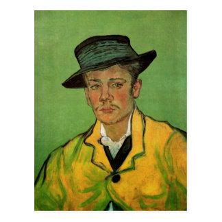 Cartão Postal Retrato de Armand Roulin por Vincent van Gogh