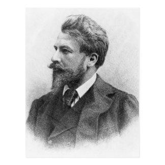 Cartão Postal Retrato de Arthur Schnitzler