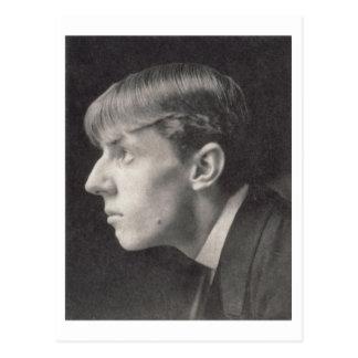 Cartão Postal Retrato de Aubrey Beardsley (1872-98) por Frederic