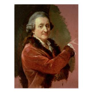 Cartão Postal Retrato de auto, 1773-87 (óleo em canvas)
