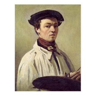 Cartão Postal Retrato de auto, c.1840