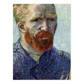 Cartão Postal Retrato de auto de Van Gogh