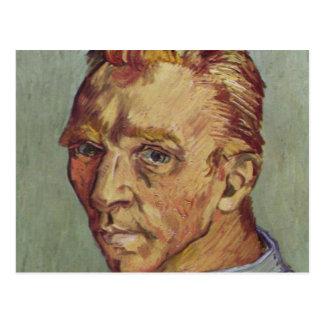Cartão Postal Retrato de auto de Vincent van Gogh barbeado