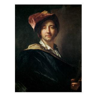 Cartão Postal Retrato de auto em um turbante, 1700