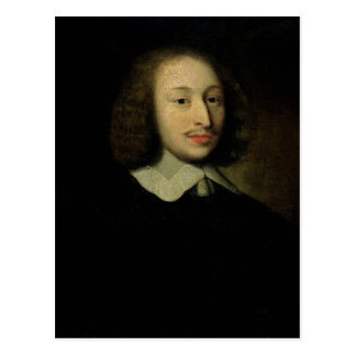 Cartão Postal Retrato de Blaise Pascal