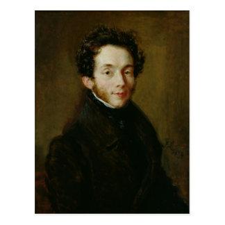 Cartão Postal Retrato de Carl Maria Friedrich Ernst von