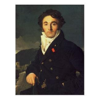 Cartão Postal Retrato de Charles Cordier 1811