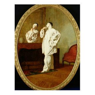 Cartão Postal Retrato de Charles Deburau