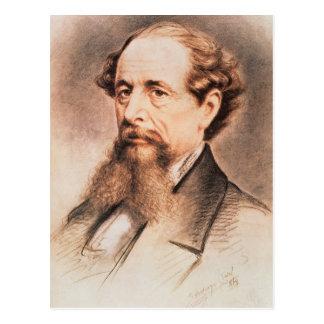 Cartão Postal Retrato de Charles Dickens, 1869