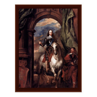 Cartão Postal Retrato de Charles mim, rei de Inglaterra