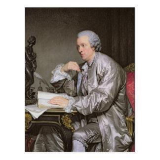 Cartão Postal Retrato de Claude-Henri Watelet 1763-65