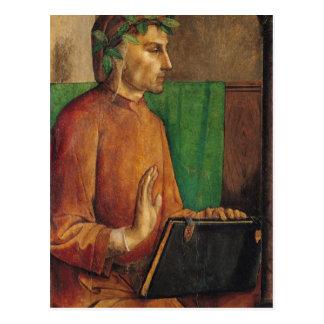 Cartão Postal Retrato de Dante Alighieri, c.1475