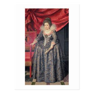 Cartão Postal Retrato de Elizabeth de 1602-44) filhas de France