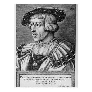 Cartão Postal Retrato de Ferdinand mim de Habsburgo, 1531