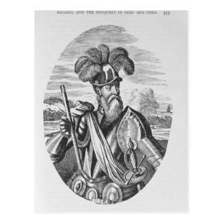 Cartão Postal Retrato de Francisco Pizarro