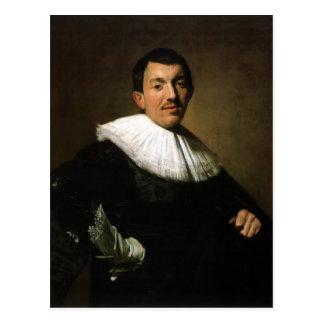 Cartão Postal Retrato de Frans Hals- de um homem