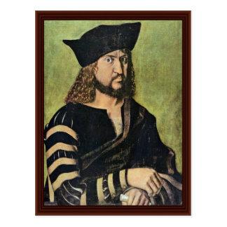 Cartão Postal Retrato de Frederick o eleitor sábio de Saxony