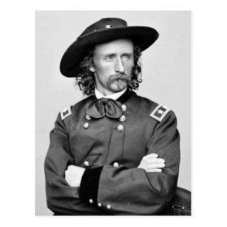 Cartão Postal Retrato de George Armstrong Custer