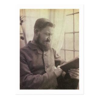Cartão Postal Retrato de George Bernard Shaw (1856-1950) como um