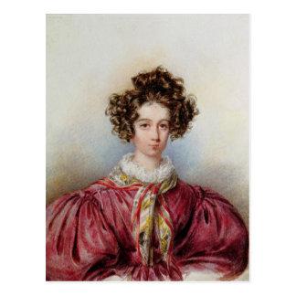 Cartão Postal Retrato de George Sand 1830