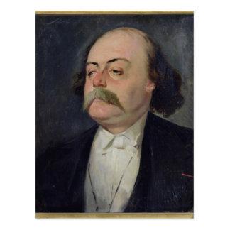 Cartão Postal Retrato de Gustave Flaubert 1868-81