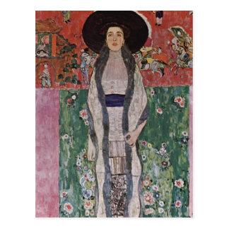 Cartão Postal Retrato de Gustavo Klimt de Adele Bloch-Bauer II