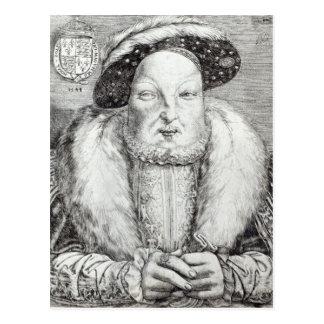 Cartão Postal Retrato de Henry VIII, 1548